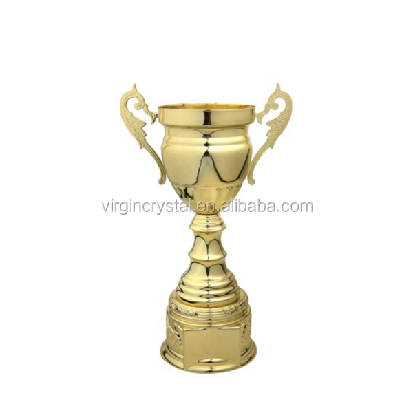 Chinese cheap awards metal trophy/brass boxing trophies and medals/fishing medals trophy cup arabic trophy