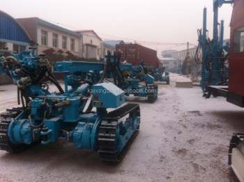 KQG120 high pressure TOP hammer drilling rig