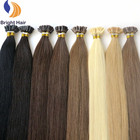Hot selling products natura flat tip pre bonded fusion hair extensions