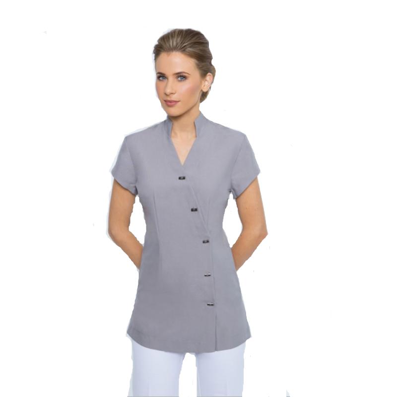 Personnalis en gros spa uniformes tops pour les femmes for Spa uniform europe