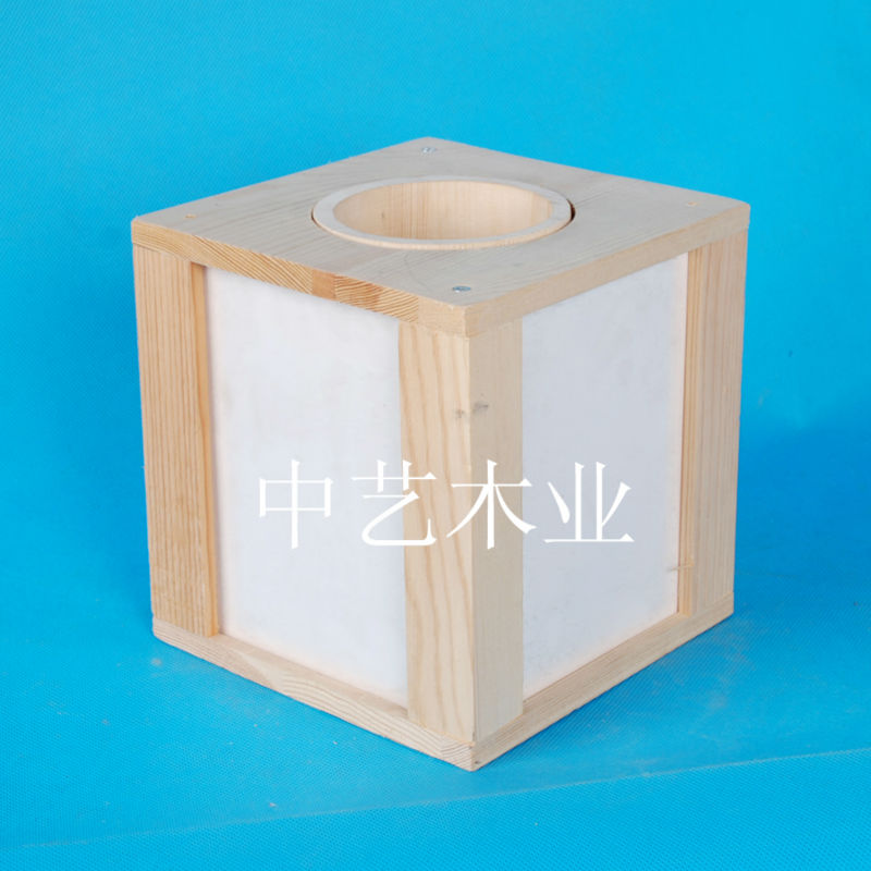 FSC Wooden decorative wooden box photo frame