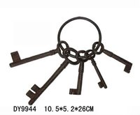 cast iron key decoration