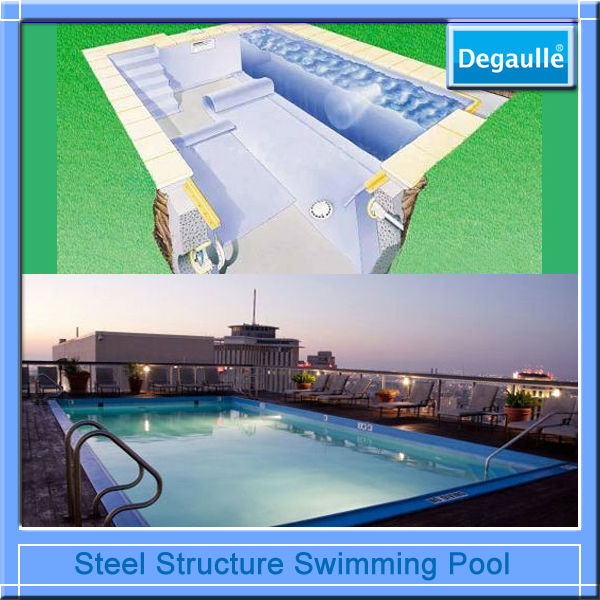 Specialist Industrial Galvanized Steel Pool
