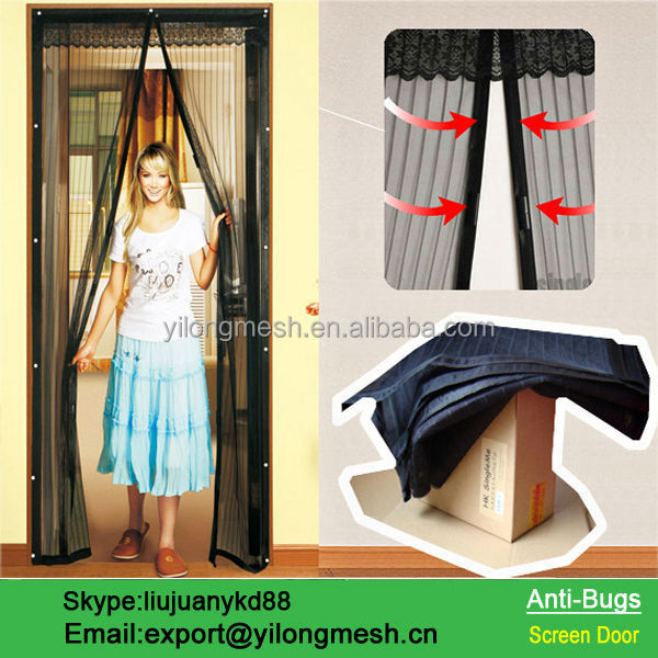 Hanging Fly Screen Curtain, Hanging Fly Screen Curtain Suppliers And  Manufacturers At Alibaba.com