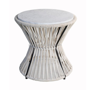 Marble Cord Small Tea Table Any Home Furniture Dining Table Tea Table Coffee Table