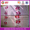 beautiful printing hot sale 100% cotton printed duvet cover set bed sheet set fabric with flower print