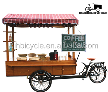 2017 New Design Juice Bar Bicycle Take Out Coffee Bike