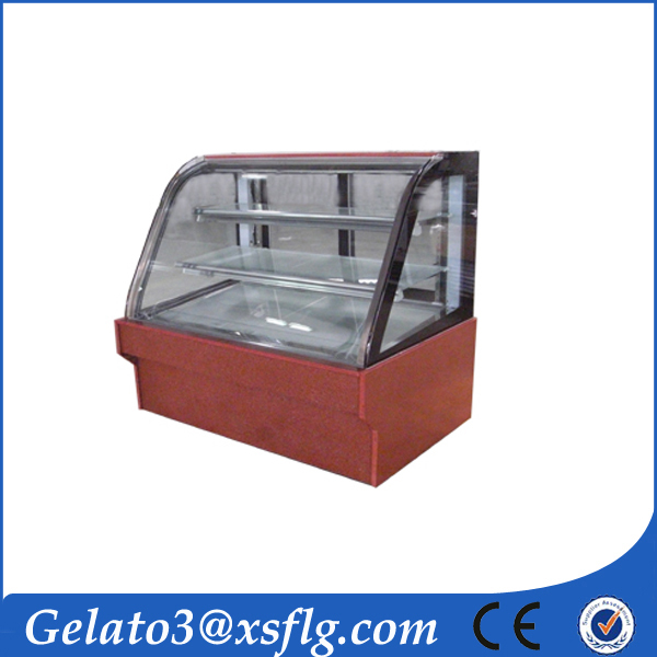 China Refrigerator Equipment Cake Showcase Chiller Supplier