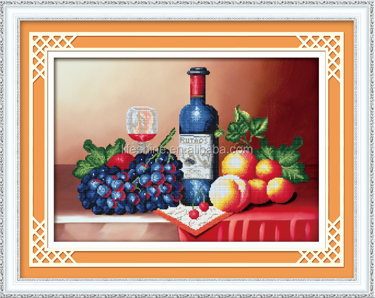 Taste of life wall decoration, diy diamond painting, diamond painting kit