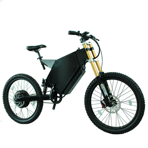 Hub Motor Fat Tire Full Suspension 5KW Enduro Ebike Frame Battery with Kit Available