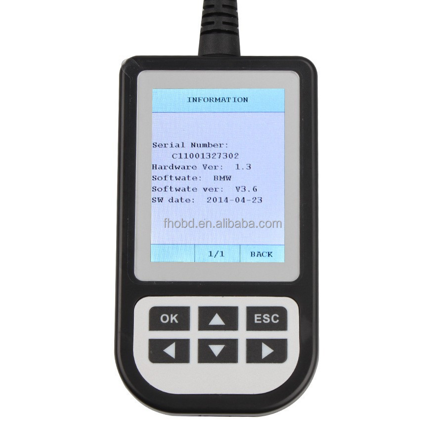 Diagnostic Scanner C110 V3.9 For BMW Code Readers Scan Tools 3.9 Version OBD2 EOBD2 Scanner