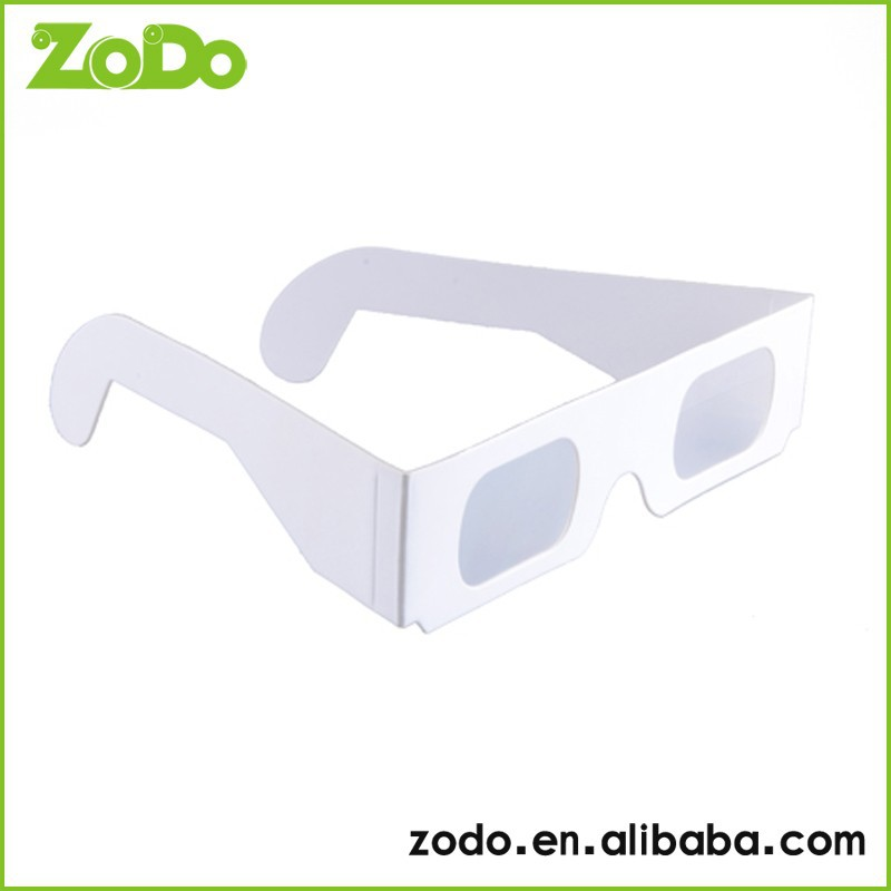 magical funny 3d paper glasses Can at any time to watch the fireworks