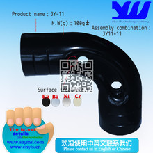 Metal connector with 90 degree for pipe rack system JY-11