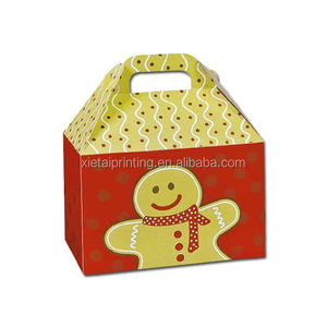 New design birthday party favor sweet treat paper gable boxes