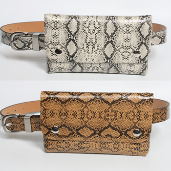 Womens Python Leather Belt Pack With Removable Waist Pouch Fashion Bags Bag Packs For Women