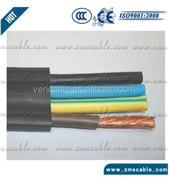 Tvvb Elevator Cable Flat Type 4core 6 Core 8 Core 20 Core Rubber ...