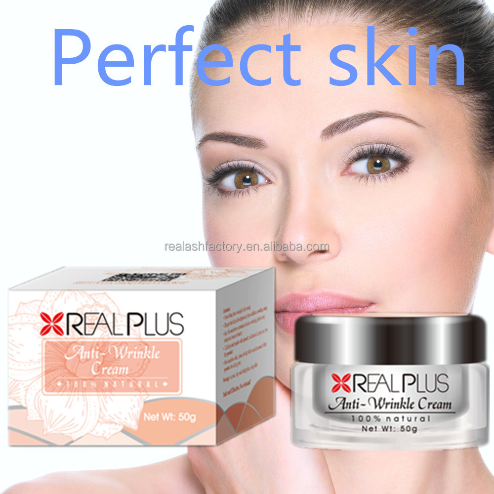 Spot and acne removal cream REAL PLUS produces