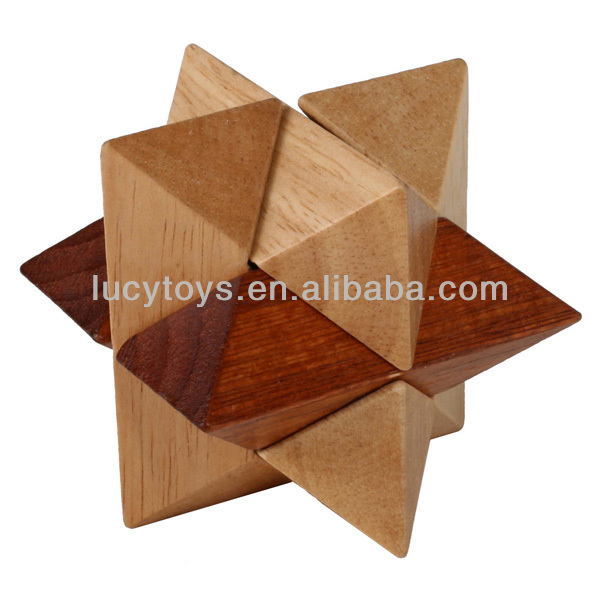 wooden Octagon Magic Sphere 3d puzzle