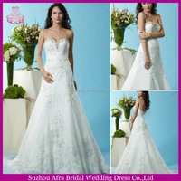 SD1522 sweetheart neckline cheap 2 in 1 wedding dress lace wedding dresses 2015