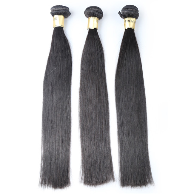 Mink Brazilian straight no tangle no shed top quality cuticle aligned hair