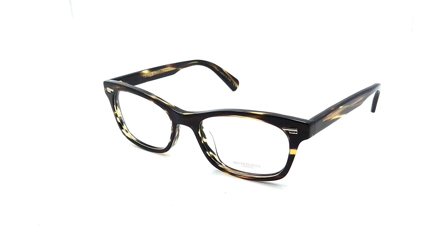 Oliver Peoples Rx Eyeglasses Frames Wilmore 5269U 1003 52x18 Cocobolo Italy