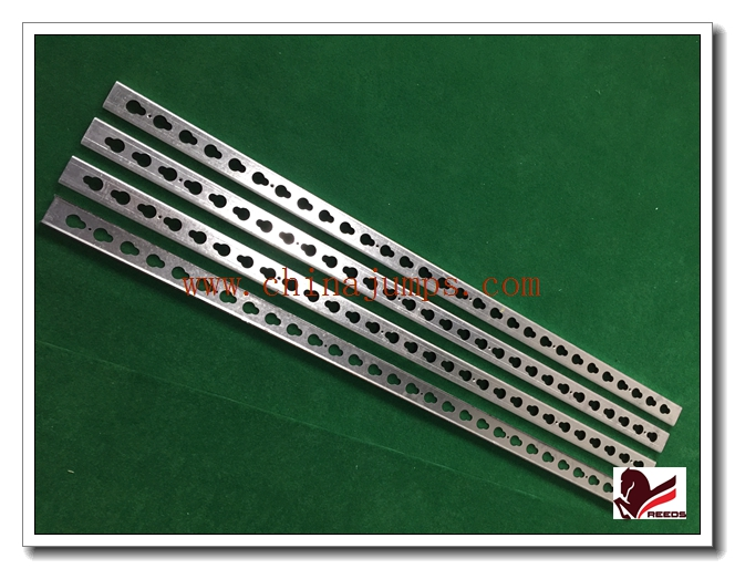 Galvanized steel keyhole track metal with keyhole and screw 6 holes horse show jumps accessories