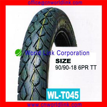 Rubber Wholesale Motorcycle Tire 90/90-18