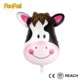 High Quality Small Animal Head Mini Foil Balloons Cow Helium Mylar Balloon for Gift