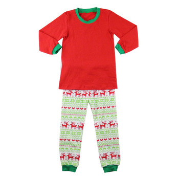 high quality kids christmas pajamas wholesale printed christmas blank pajamas wholesale christmas pajamas - Wholesale Christmas Pajamas