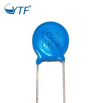 Ceramic Disc Blue Capacitors 6kv 10000pf Ceramic