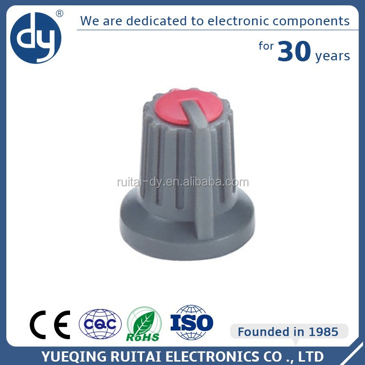 Professional Chinese Supplier High Quality Plastic Potentiometer Knob