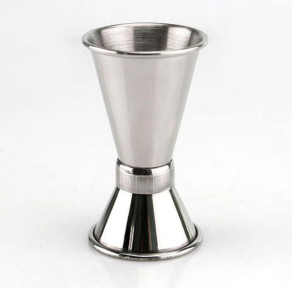Customized Logo Stainless Steel Cocktail Double Measuring Jigger