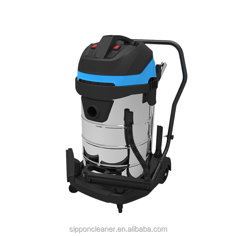 3000W 80L Hot Sale Industrial Wet Dry Vacuum Cleaner