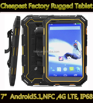 Highton Factory 7 Inch 4G LTE 2G Ram 16G EMCP NFC Reader Android 5.1 Rugged Industrial Tablet PC HR935