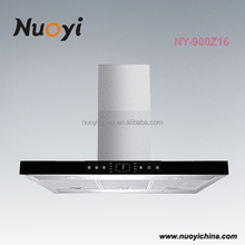 Alibaba wholesale best quality new cooper island range hood with motor and led light