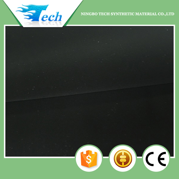 Ningbo Tech Chinese Factory pu synthetic Nubuck leather for shoes(brazil market)