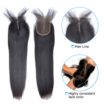 Bundles with frontal transparent lace closure,ombre human hair weave bundles with closure,brazilian straight hair with closure