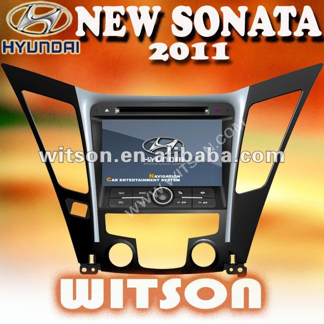 WITSON HYUNDAI SONATA 2011 NAVIGATION SYSTEM with SD card for Music and Movie