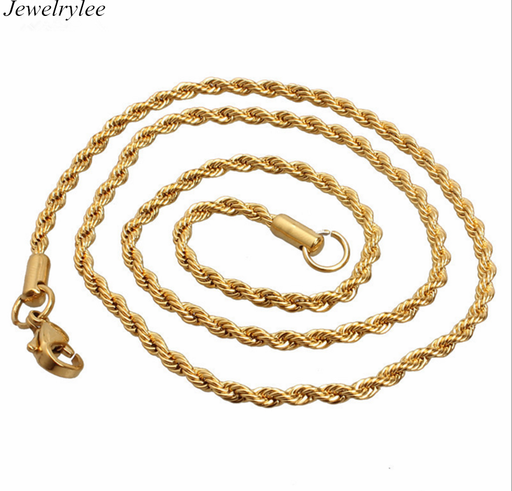 New Gold Chain Design For Men 316 Stainless Steel Dubai Gold ...