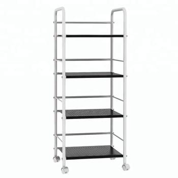 4-Tier metal kitchen dish storage racks trolley cart conner display shelf  organizer, View metal dish rack, HOME BI Product Details from Homebi ...