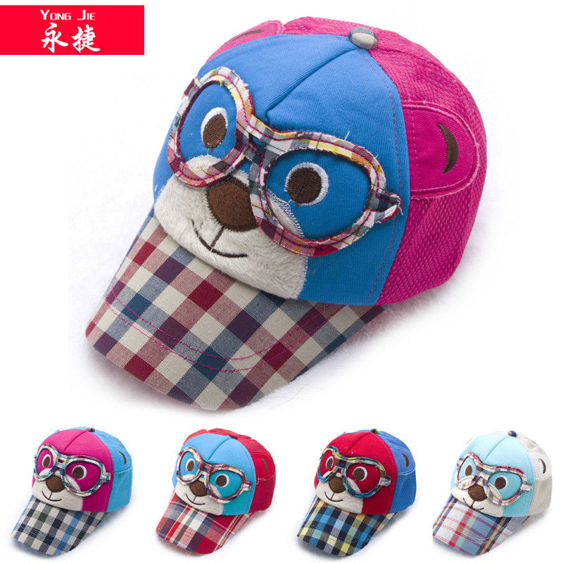 china wholesale cartoon children caps and hats kid cheap baseball cap