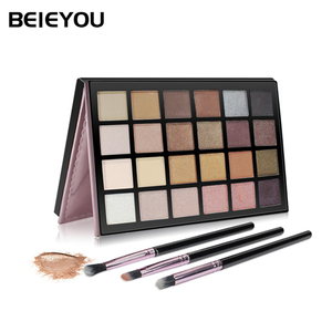 Wholesale Eyeshadow Pigment Palette Professional Eye Shadow Set Makeup High Pigment Shimmer Eyeshadow Palette 24 Color