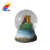 Cheap Custom Unique  Made Chile Resin Gift Souvenir City Mini Crystal Snow Globe