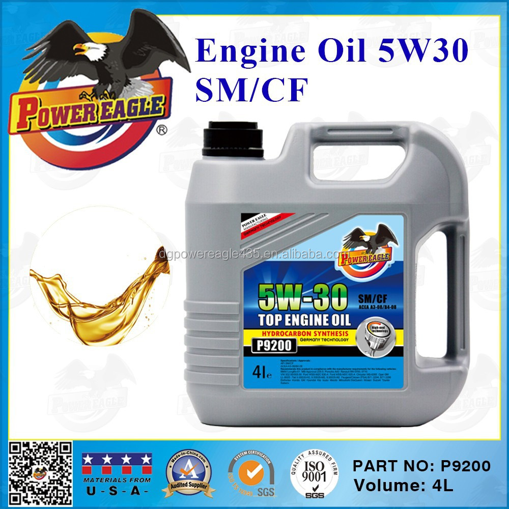 Fully Synthetic Engine Oil 5W30 4L