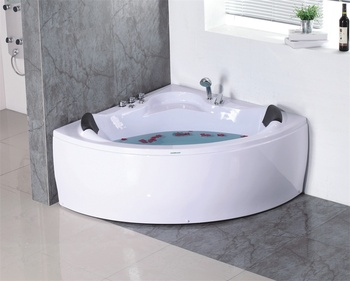 Deluxe Semicircle 50 Inch Bathtub