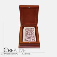 Professional Wooden Poker Chip Set Box