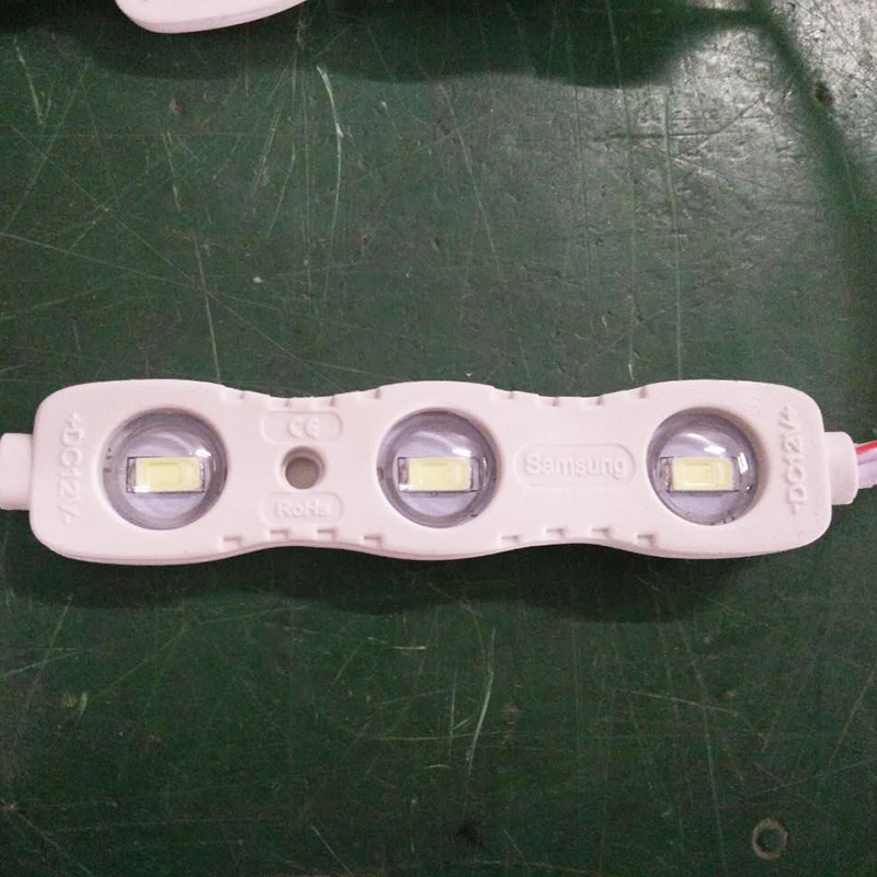 2 Years warranty 1.5W led module SMD5730 with 3 chips 180lm
