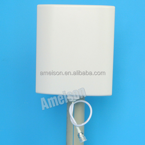 AMEISON 450 - 470 MHz 6 dBi Directional Wall Mount Flat Patch 4g LTE panel antenna 450mhz