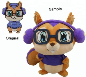 Plush Toy Manufacturer Stuffed Animal Soft Doll Custom Plush Toys