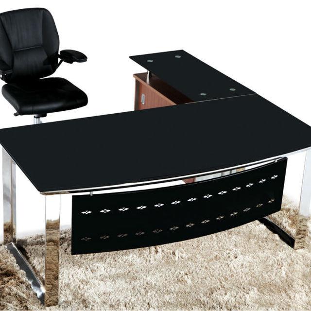 office desk cover. Tempered Glass Desk Cover,glass Top Office Desk,office MR- Cover